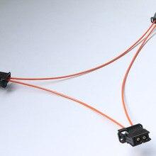 Наиболее оптический оптоволоконный соединительный кабель мультимедийные разъемы для Audi BMW Benz Porsche и т. Д