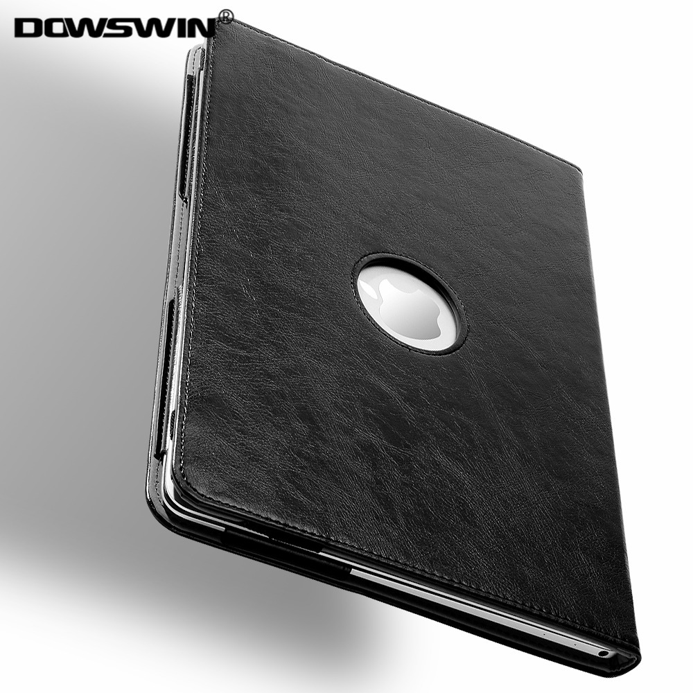 DOWSWIN for macbook air 12 case, pu leather laptop cover for macbook retina 12 inch case full protect with hand strap for A1534