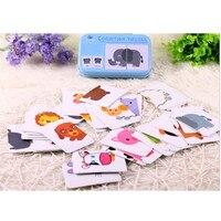 Nieuwe Collectie Baby Speelgoed Baby Early Hoofd Start Training Puzzel Cognitieve Kaart Voertuig/Fruit/Animal/Leven Set paar Puzzel Kids Gift