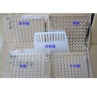 100 Holes Manual Capsule Filling Machine Pharmaceutical Capsule Maker Filler Size 00 0 1 2 3