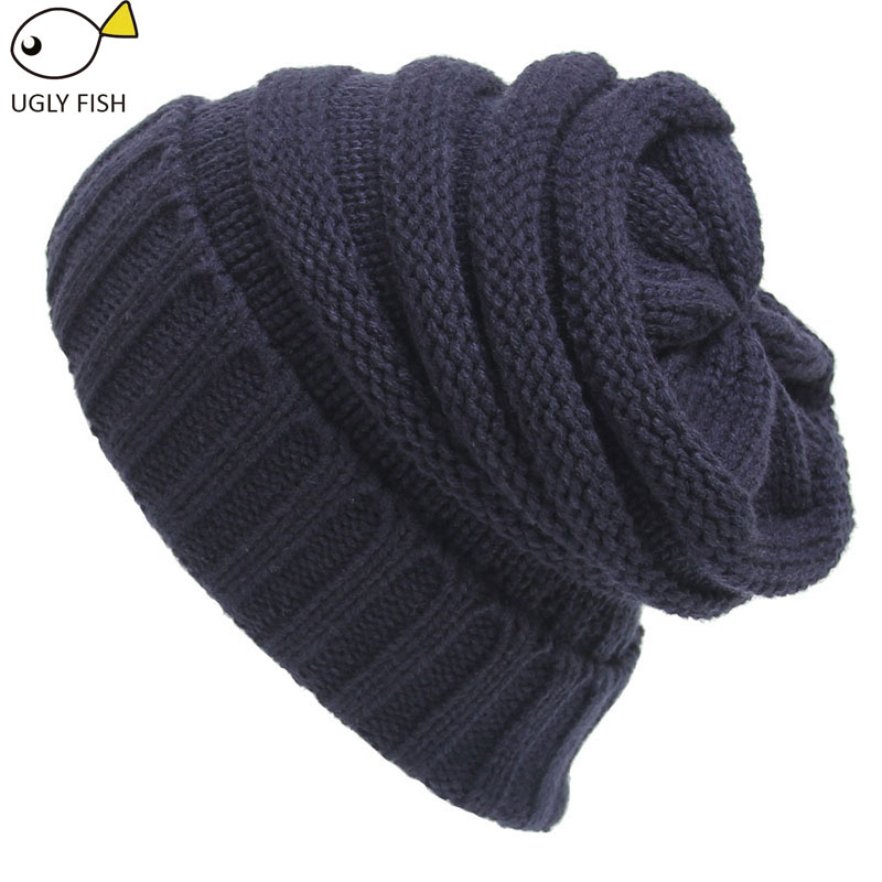 Trendy Warm Chunky Soft Stretch Cable Knit Slouchy Beanie Skully HAT cc  beanie-in Skullies   Beanies from Apparel Accessories on Aliexpress.com  552fde529cb