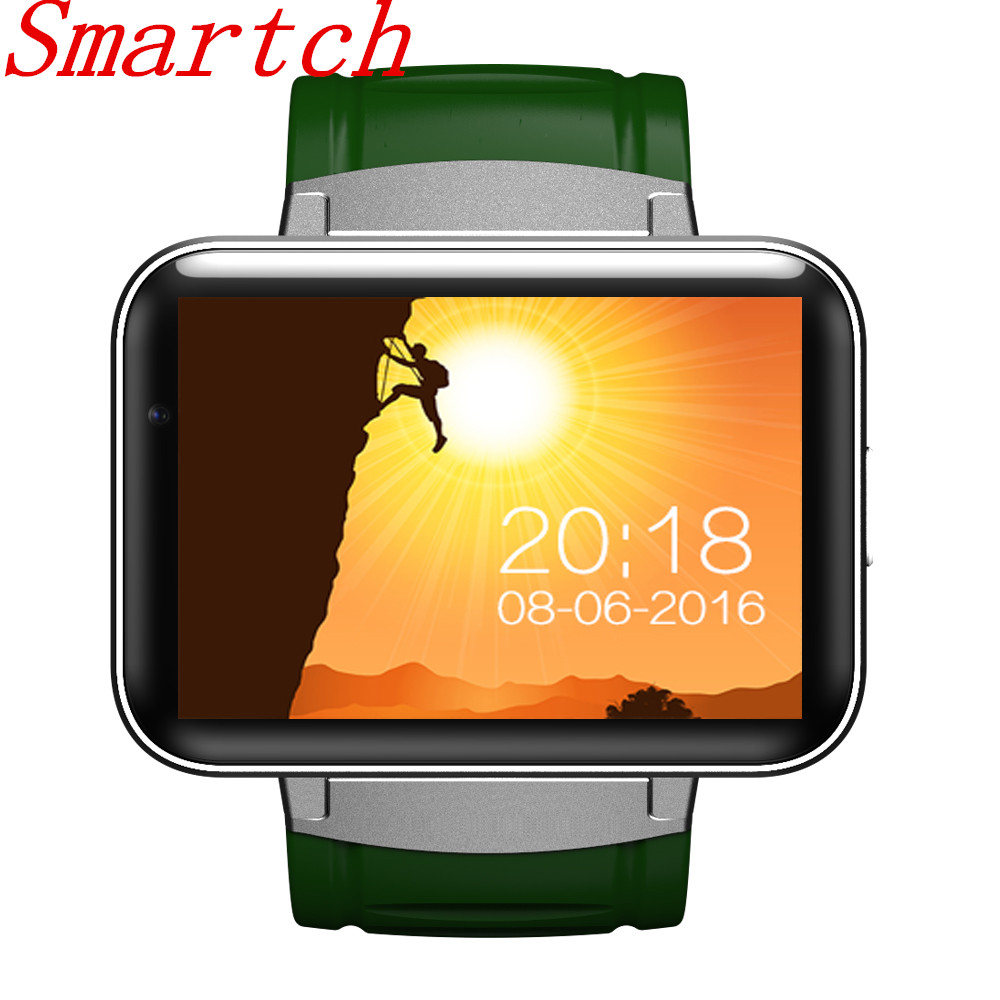 Smartch 2017 New 3g GPS Wifi Bluetooth Watch Smart Watch DM98 Supports SIM Card Reminder Calls for Android/IOS phone pk kw88 цены