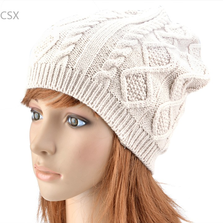 Alishebuy Mens Winter Caps women 2014 Fashion Warm Outdoor Skiing Beanie hat Sports Beanie Knitted hats for women B3 practical outdoor sports bluetooth headphones speaker mic winter warm knitted beanie hat