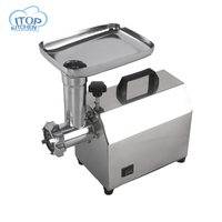 ITOP 140W Stainless Steel Home Electric Meat Grinder Sausage Stuffer Mincer Heavy Duty Household Mincer