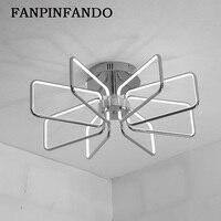 Креативный модный потолочный светильник светодиодный потолочный светильник для фойе гостиной спальни кухни Хромированный Позолоченный п