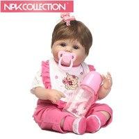 40 Cm Alive New Born Babies Realistic Soft Silicone Reborn Baby Dolls 16 Inch Handmade Bonecas