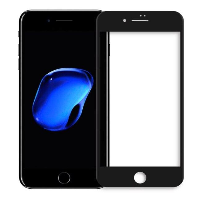 Nillkin para el iphone 7 plus 5.5 pulgadas 3d ap + pro para iphone 7 plus completo protector de pantalla de cristal templado de cine inastillable borde