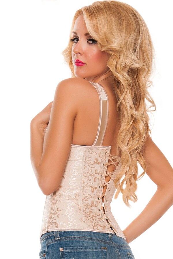 Elegant-Apricot-Brocade-Bridal-Corset-LC5377-2-4