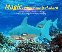 Mini RC Shark toys for children with Electric Radio remote control animal model