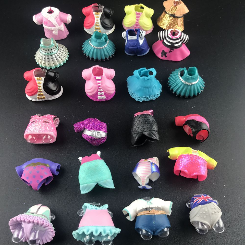 18colors Original Baby Doll Dress Clothes For Lol Big Sister Dolls DIY Kid Birthday Christmas Gift Toy
