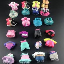 18colors Original Baby Doll Dress Clothes for lol Big Sister Dolls DIY Kid Birthday Christmas Gift toy(China)