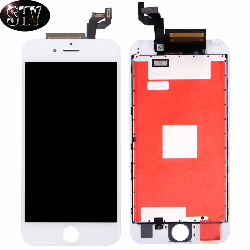 Подробнее о 100% Top for iPhone 6s plus LCD Display Touch Screen Digitizer Assembly Frame No dead pixel White Black Free DHL shipping 10pcs free dhl tracking no 100% tested fir brand new 5 5 for iphone 6 plus lcd screen display digitizer assembly white black