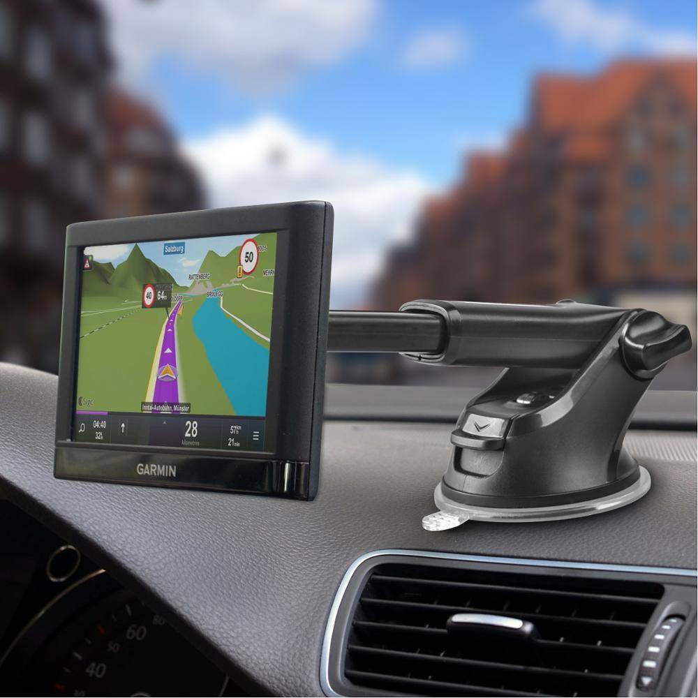 Dash Car Mount with Semi-Auto Extension Arm for Garmin Nuvi Seires GPS Units 2
