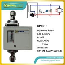 Регулируемый микро дифференциальное реле давления устанавливается между подачи и отвода воды трубопроводы пластинчатый теплообменник для