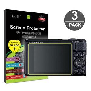 Image 1 - 3x Gehärtetem Glas Screen Protector für Canon Powershot SX60 SX70 SX740 SX730 SX720 SX710 SX620 SX610 HS