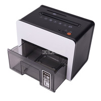 Trituradora automática de papel A5 eléctrica para oficina trituradora de archivos trituradora eléctrica silenciosa trituradora de papel triturado tamaño 3*10mm 9931 # Trituradora     -