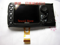 Original D500 Rear Cover Back Cover Shell Case With LCD Display Screen and Menu Function Button Flex Cable FPC For Nikon D500