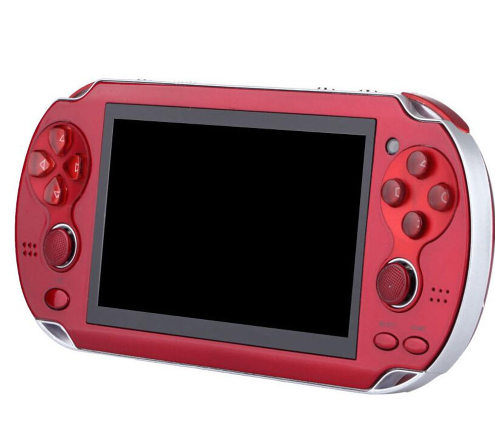 Handheld Games Console 4.3 Inch 8GB 32Bit Video Game Players Retro Games Support TV Out Double Rocker