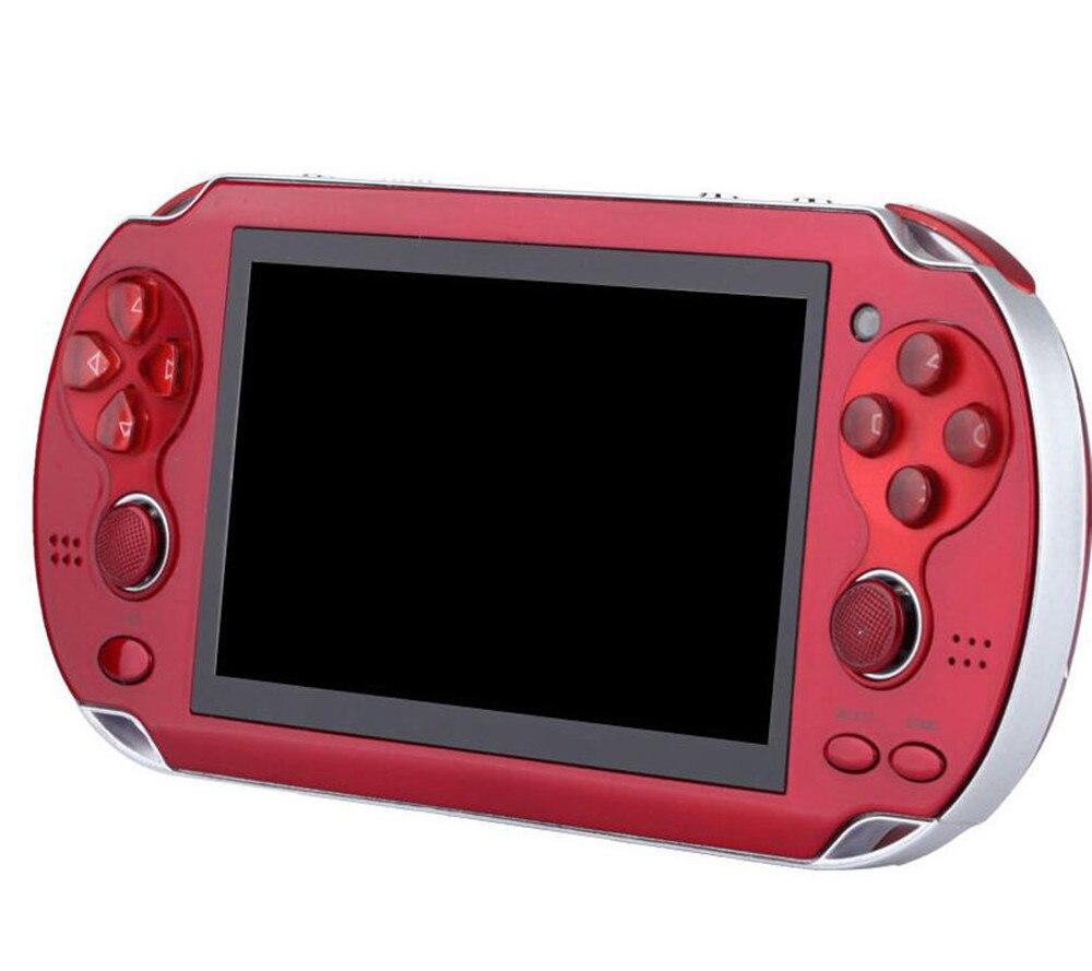 Jeux de poche Console 4.3 Pouce 8 GB 32Bit Vidéo Jeu Joueurs Rétro Jeux Support TV Out Double Rocker