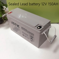 12V 150AH Sealed Lead Battery Maintenance Free 12V Storage Battery Solar System 12V 150AH Battery