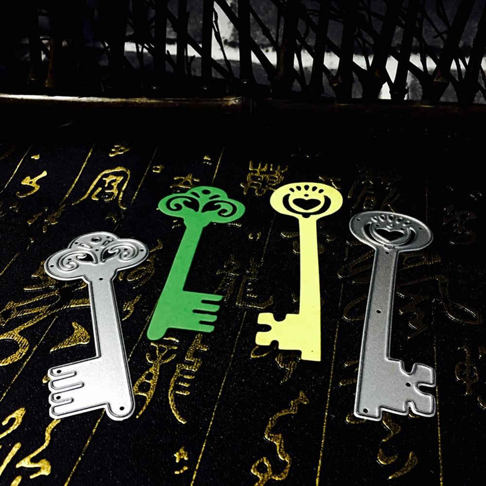 ₩Nuevo metal Recortes de papel plantillas 2 unids estilos abridor ...