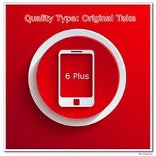5 teile/los Ursprüngliches Nehmen von Telefon Eine Qualität Bildschirm für 6 Plus LCD Display Schwarz/Weiß