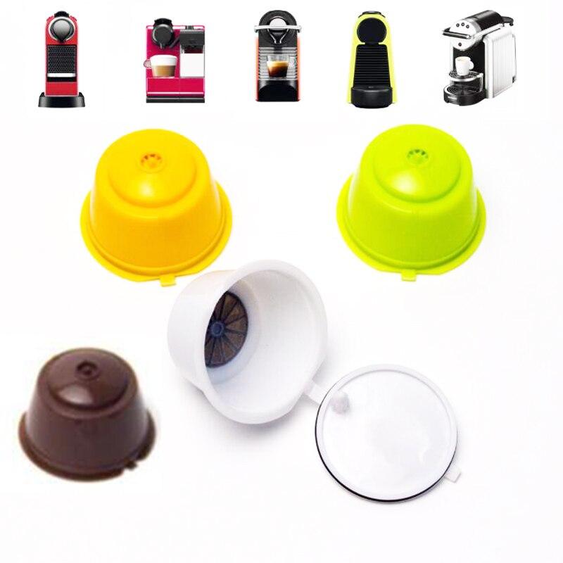 30pcs Dolce Gusto Plsatic Refillable Coffee Capsule 200 Times Reusable Compatible capsulas de caf dulce gusto