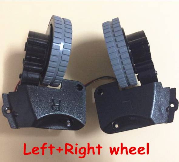 Original (Left+Right )wheel for ilife A4 a4s robot Vacuum Cleaner Parts (Including wheel motors) зонт zest 45510