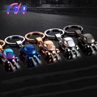 Car Styling Upscale Auto Keychain With LED Light Key Ring Holder Business Gift For Infiniti Hyundai