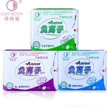 3 Pack Sanitary Safety To Eliminate Bacteria Winalite Anion Sanitary Pad Feminine Hygiene Product Organic Cotton Sanitary Pads