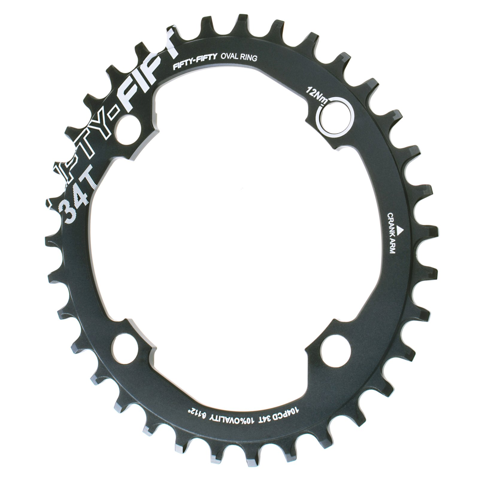 FIFTY-FIFTY Mountain Bike  MTB Bicycle Chainwheel 104PCD Ovalrings 32T 34T 36T 9/10/11S Chain Ring fouriers mtb mountain bikes chainring mountain bike mtb bicycle chain ring xt r m9000 m9020 xt m8000 11s chainwheel