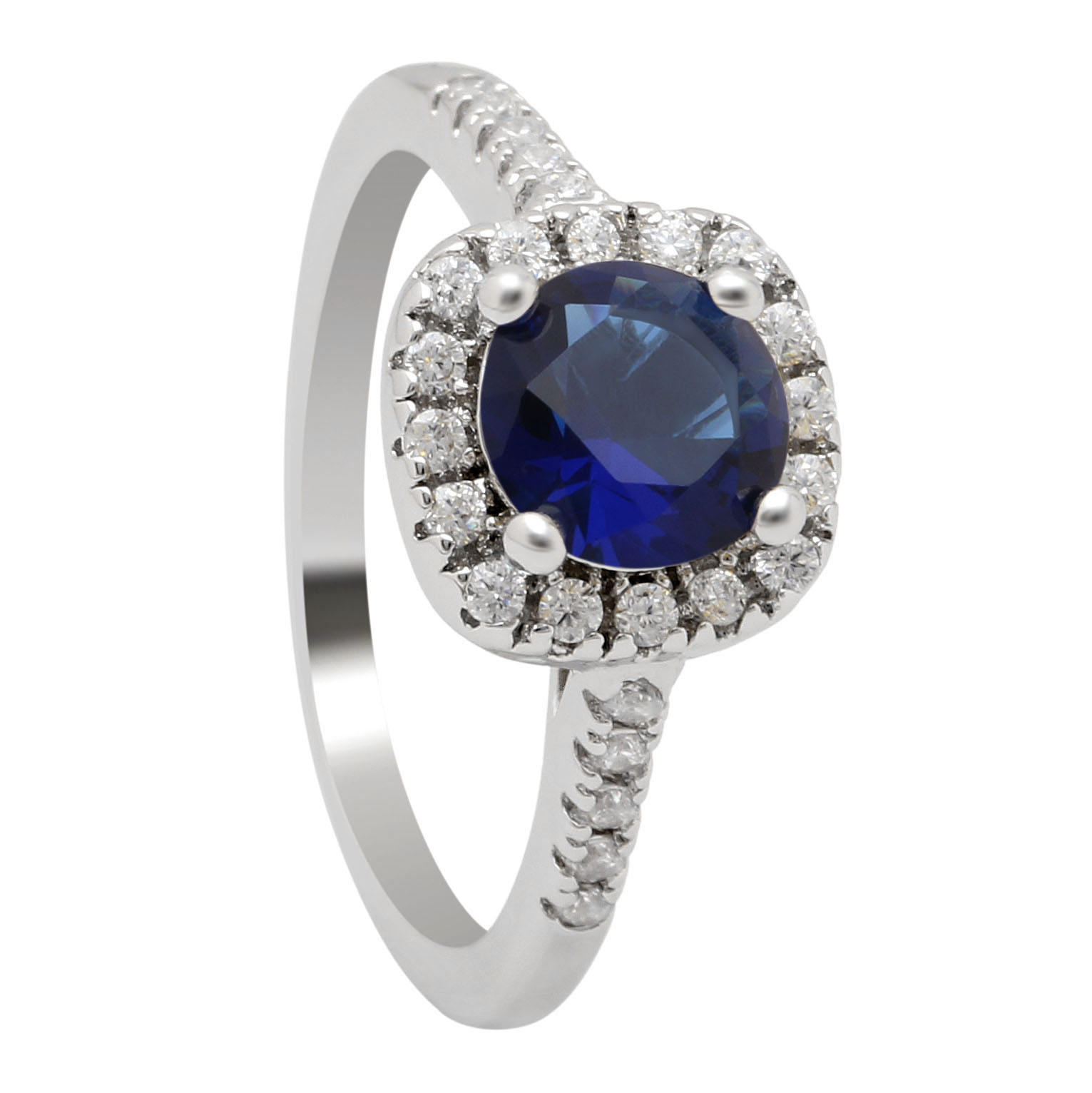 online shop silver plated plated wedding rings for women square