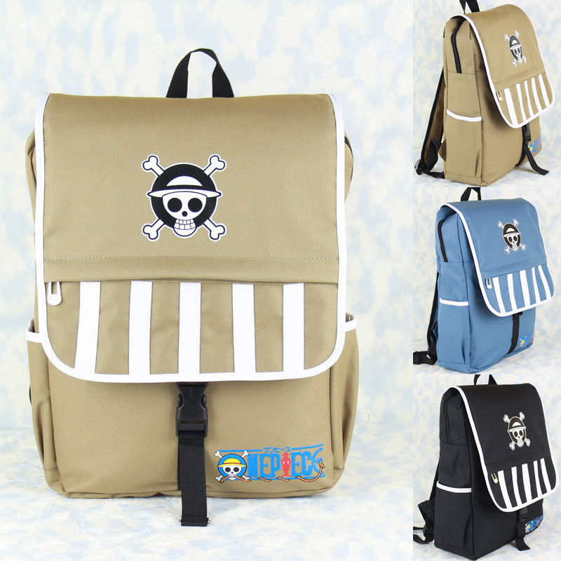 Hot Sale Cartoon One Piece Danganronpa Backpack Men Women Knapsack Travel Bag Mochila for Teenage Girls Boys