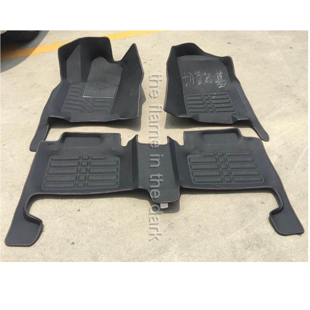 Floor mats jeep grand cherokee 2011 - Free Shipping Fiber Leather Car Floor Mat Carpet Rug Eu Approval For Jeep Grand Cherokee Wk2 2011 2012 2013 2014 2015 2016