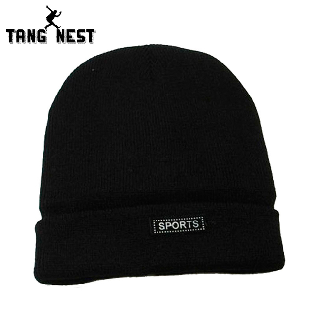 bbb548e21e2 Winter Sweater Hat 2019 New Arrival Solid Warm Lowest Price Men s Hats Plus  Velvet Adult Casual Fashionable Hat PMM289