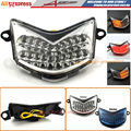 For Kawasaki ZX-10R 2006-2007,Z750S/ZX-6R 2005-2006 Motorcycle LED Integrated Tai llight Turn Signal Blinker Clear