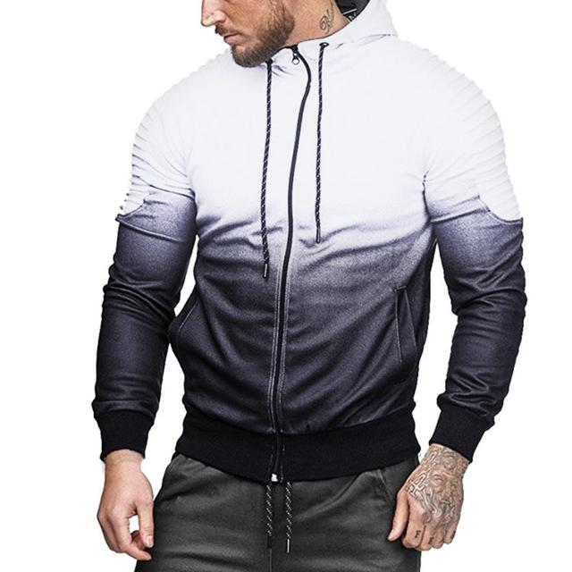 fe559c1511cec US $12.98 40% OFF|Men's Casual Sweatshirt Mens' Autumn Winter Long Sleeve  Splicing Fold Hooded Top Tracksuits dropshipping augu15-in Hoodies & ...