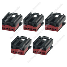 5 Sets 4 Pin automotive connector shell sheath with terminal 6-1419169-8, DJ7045C-1.2-21