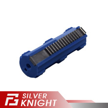 SHS Blue Fibre Reinforced Full Steel 14 Teeth Piston For Airsoft M4 AK G36 MP5 Gearbox Ver 2/3 AEG Gun Accessories