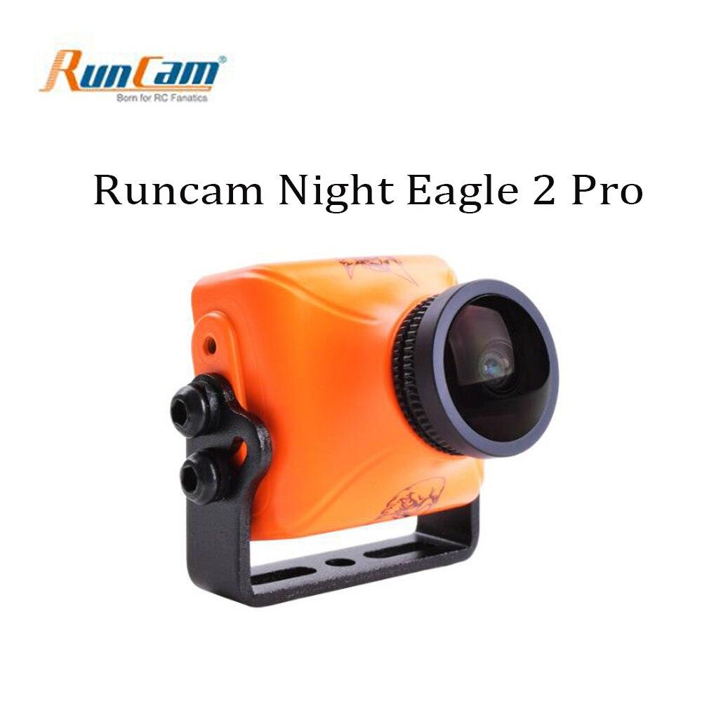 RunCam Night Eagle 2 PRO Integrated OSD MIC 800TVL FPV Camera 0.00001 LUX 4:3
