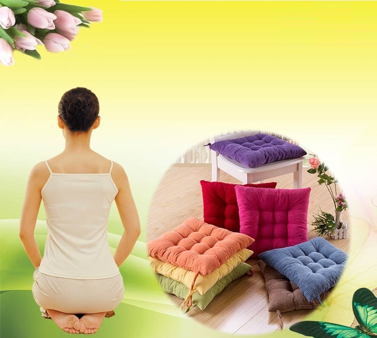 Bar chair Hotel stool plush cushion Living room dining table cloth cushion Yoga mat retail wholesale free shipping