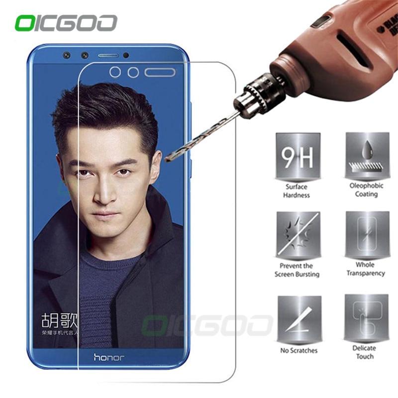OICGOO מגן זכוכית על עבור Huawei honor 9 לייט מסך מגן honor 9 9 H 2.5D טלפון מזג זכוכית עבור honor 9 סרט