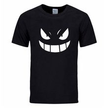 2017 Musim Panas Streetwear MMA Pocket Monster Pokemon T-shirt Pria Hip Hop Kasual Pendek Lengan Pokémon Gengar Kartun Anime Tshirts Pria(China)