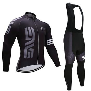 Conjunto de Ropa de equipo de Ciclismo para hombre, JERSEY y pantalones...
