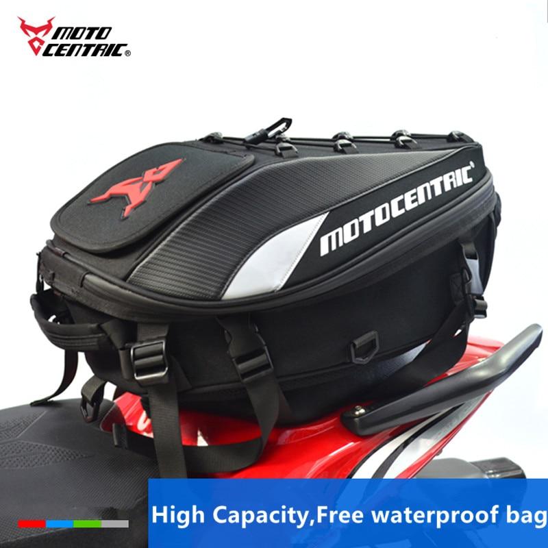2018 Brand New Moto Helmet Bags 100% Waterproof Rear Tail Bags Shoulder Backpack Waist Bag Motorcycle Rider Racing Travel Bag