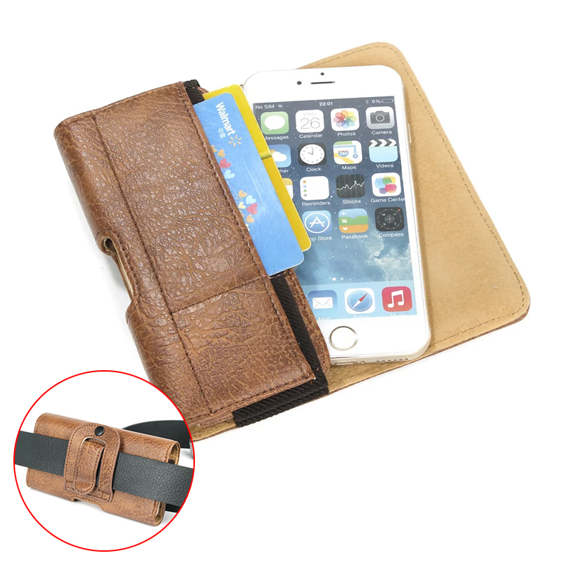 """Fashion Stone Pattern Belt Pouch PU Leather Phone Cases For sony xperia Z1 Z3 compact Z5 Z2 Cover With Card slots Hook 4.7-6.3"""""""