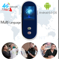 Smart Portable Voice Translation 4G Translator 35 Language Handheld Real Time Interactive Instant Translator WIFi Android 6.0