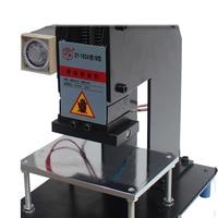 Hot Foil Stamping Machine 100x150mm Manual Bronzing Machine for leather and paper stamping machine