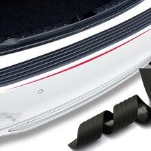 Автомобильный Стайлинг, задний бампер резиновый протектор для Volkswagen vw Touran, golf, bora, jetta, passat
