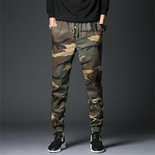 Commando Slim Fit Camo Pant